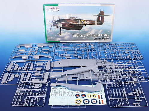 SPECIAL HOBBY 1/32 Westland Whirlwind F Mk I Cannon Fighter SH32047