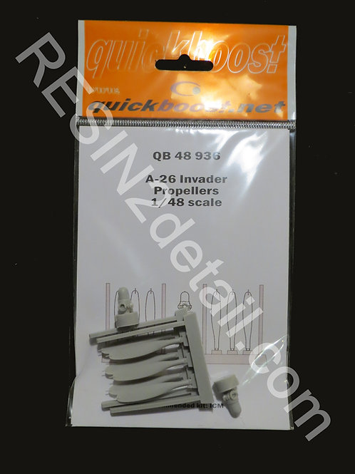 Quick Boost 1/48 A-26 Invader Propeller Upgrade QB48936