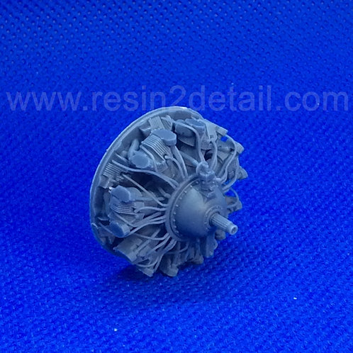 RESIN2detail Fast Fix 1/48 R-2600 Detailed Radial Engine Front 48052