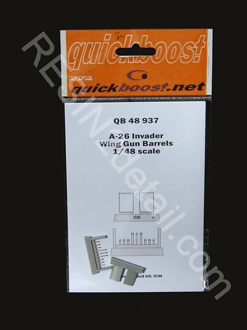 Quick Boost 1/48 A-26 Wing Gun Barrels Upgrade  QB48937
