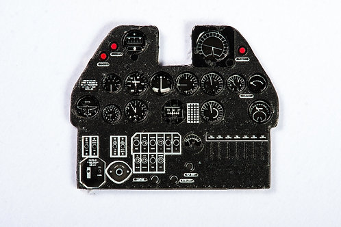 Yahu Models 1/48  Curtiss P-40 E Color Instrument Panel Upgrade