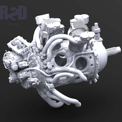 """1/32 Super-detailed Wright """"Twin Cyclone"""" R-2600 Engine Upgrade Kit (EARLY)"""