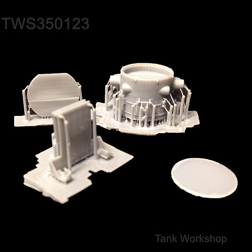 1/35 Crouse-Hinds Searchlight M46 Patton 1950s/60s/70s
