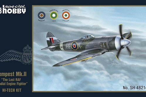 SPECIAL HOBBY 1/48 Tempest Mk II The Last RAF Radial Engine Fighter SHY48214-NEW