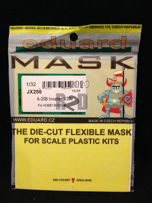 Eduard  #JX256 1/32 Mask for Hobby Boss A-26 Invader Kit