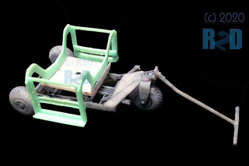 1/32 Resin M-1 Weaver Bomb Lift Kit with Bomb Cradle Combo