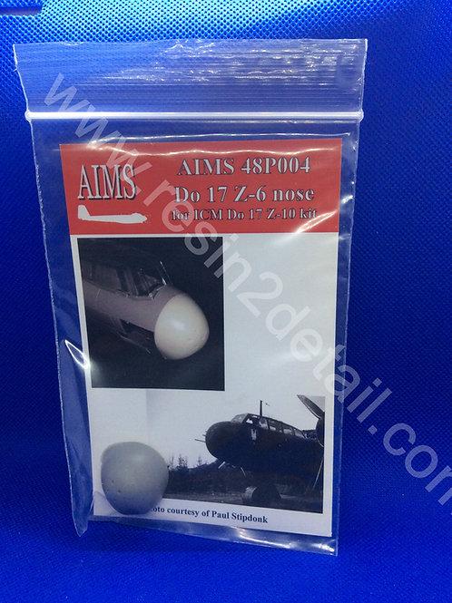 AIMS Resin 1/48 Do-17 Z-6 Resin Upgrade/Correction  (ICM)