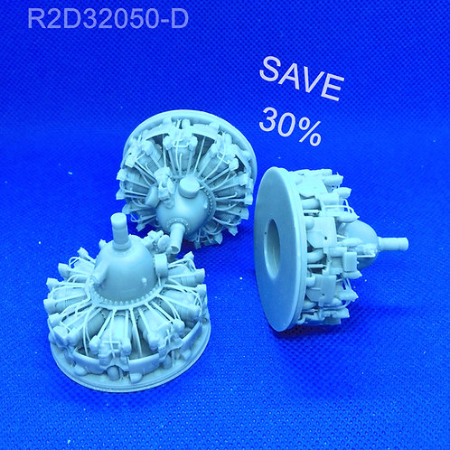 1/32 R-2800 Fast Fix Engine Upgrade: Early Model (Minor Defects)