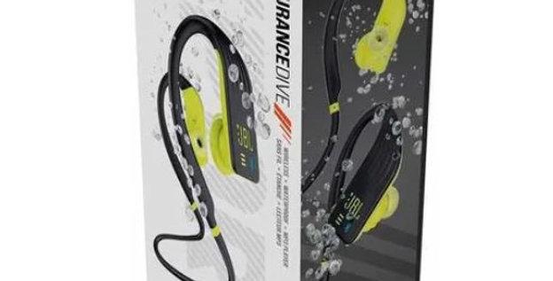 Audífonos Mp3 Y Bluetooth Jbl Endurance Dive Negro Neon
