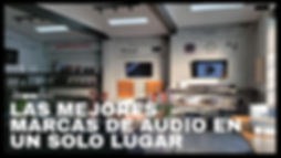 Showroom de Audio Premium - Dissmo 2020
