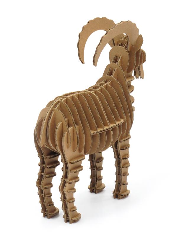 Cardboard Ram 3