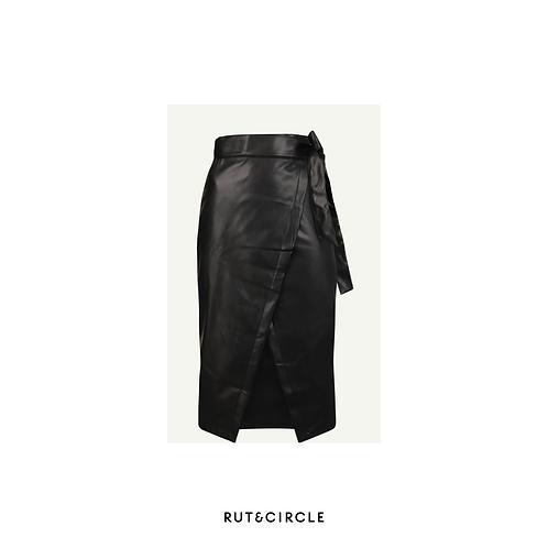 Petra pu skirt