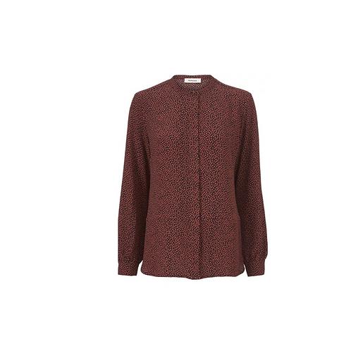 Atlas print blouse
