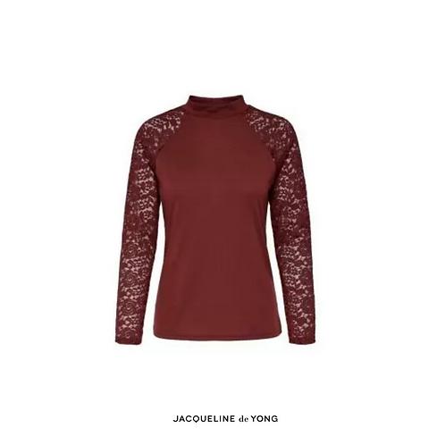 Kim highneck lace top