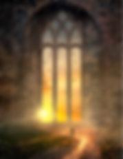 Das Fantasy Notizbuch 'Das magische Fenster' als schöne Geschenkidee