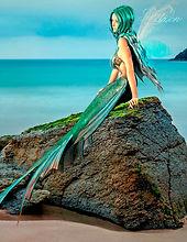 Das Fantasy Notizbuch 'Elandra, die Meerjungfrau' als schöne Geschenkidee
