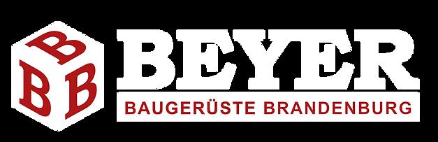 Beyer Baugerüste Brandenburg Logo