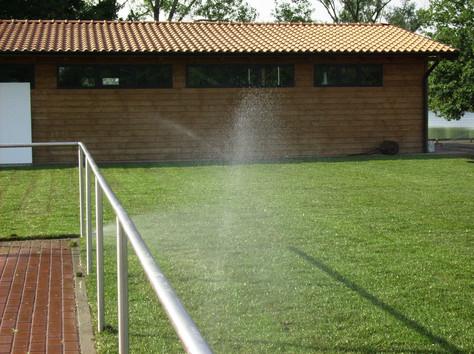Irrigazione manto verde completo
