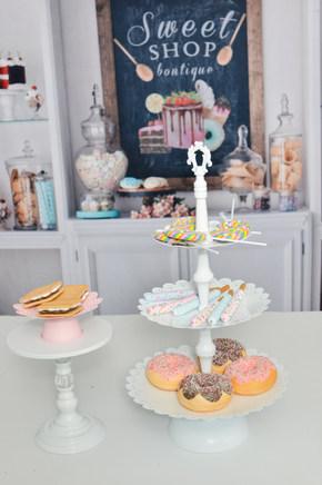 Sweet Shop Backdrop props