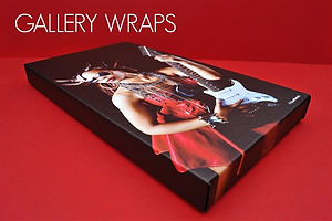 gallery wrap canvases
