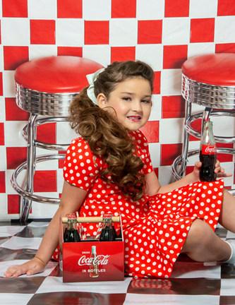 Soda Shop backdrop