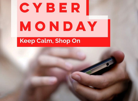 Cyber Monday shopping!