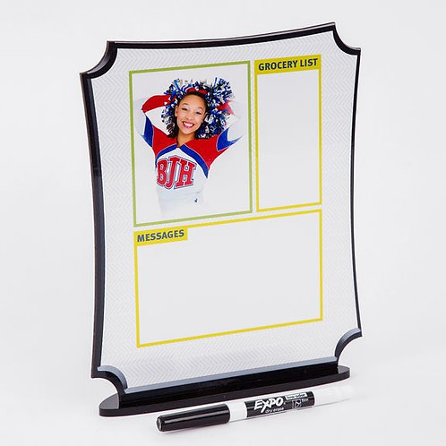 I - 8x10 Stand Up Dry Erase Board