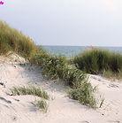 Tina auf Helgoland. Strandurlaub auf der Hochseeinsel