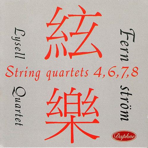 1009 John Fernström String Quartets