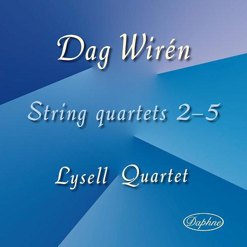1021 Wirén String Quartets
