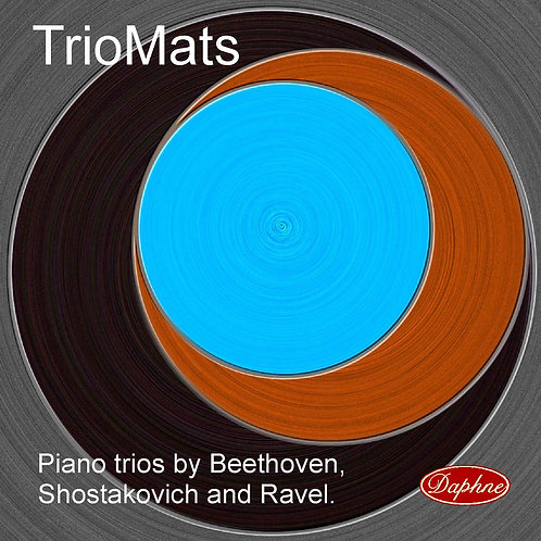 1016 Piano Trios by Beethoven, Ravel and Schostakovich TrioMats