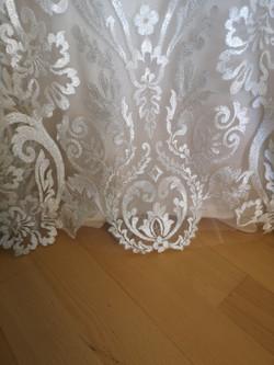 Hochzeitskleid kürzen