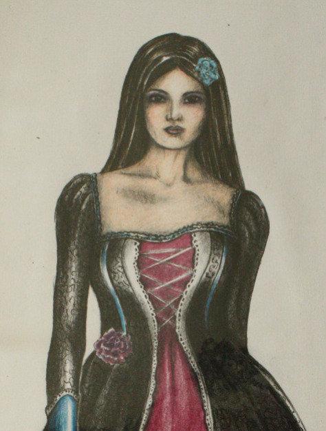 Modezeichnung, St.Gallen, Modedesign, Figurine, Model