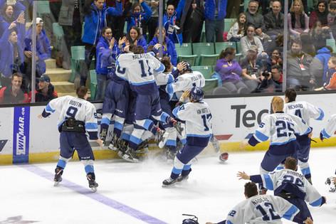 Hockey Gold Medal Win - 2019 Canada Games