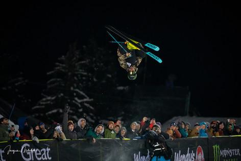 Half Pipe Skiing - 2019 Winter XGames, Aspen