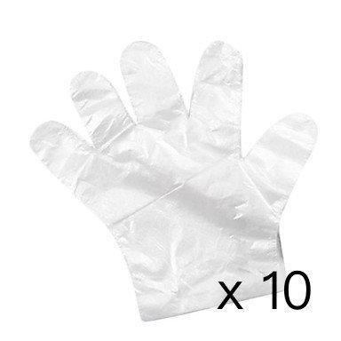 膠手套 - 1包 10對