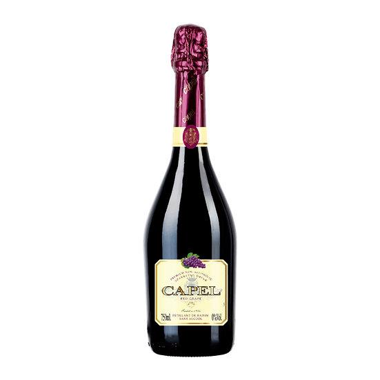 Capel Premium 0%無酒精果味香檳 - 紅提子味
