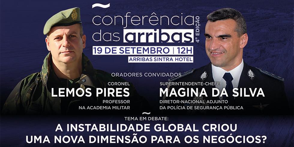 conferência das arribas