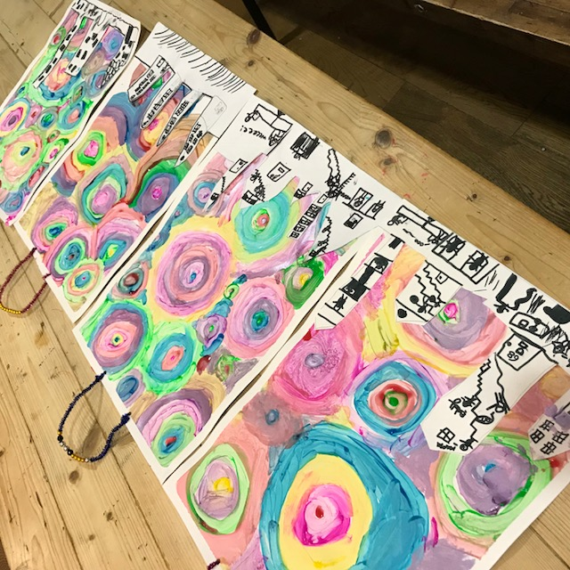 kids art party london