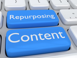 """Fueling"" your Messaging – Ingredient #4 - ""Repurposing Content"""