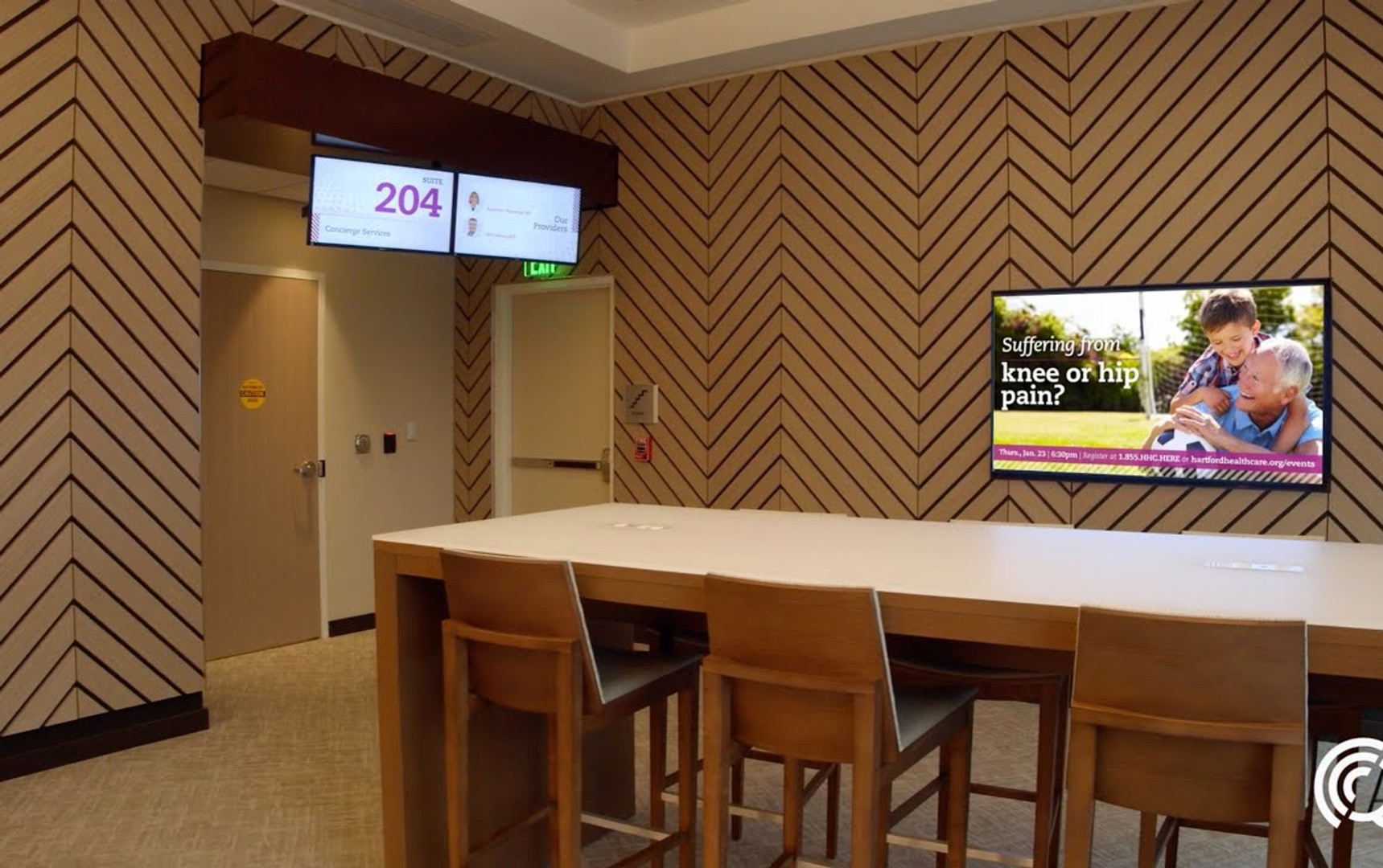 Our latest digital signage project: Mystic
