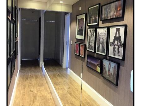 Mix nas paredes – as imagens conversam entre si
