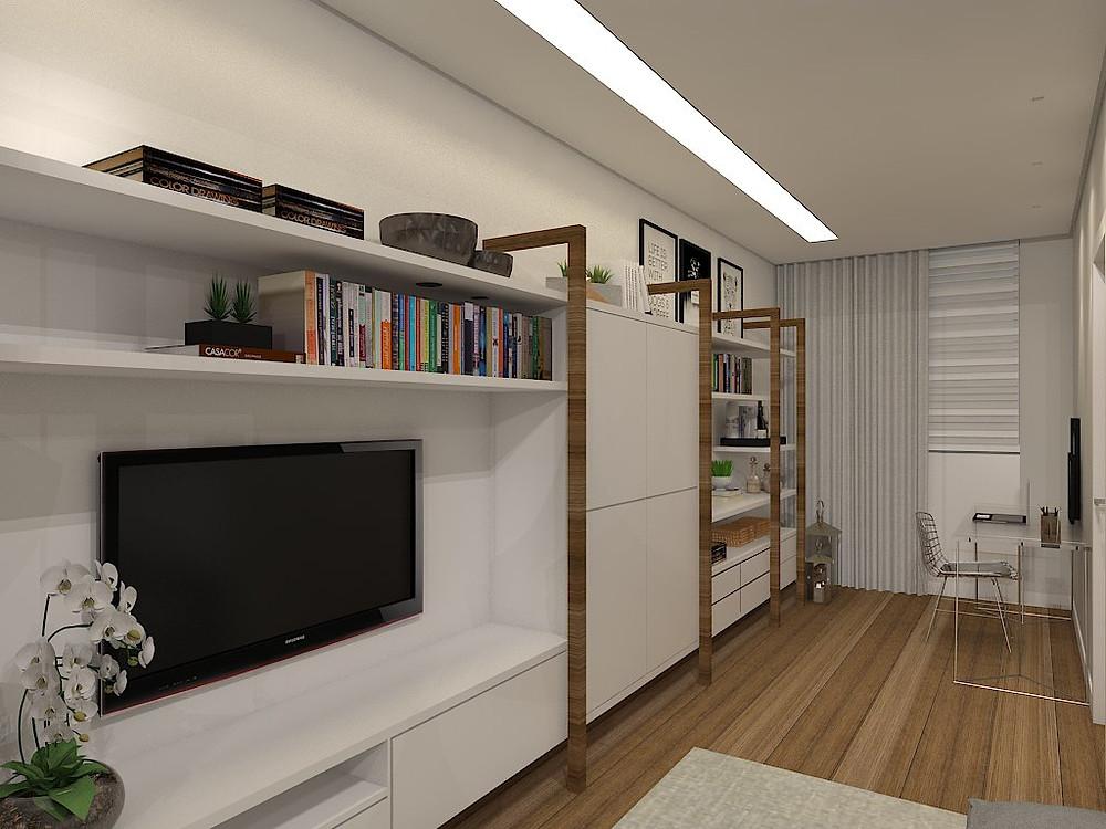 arquitetura espaços pequenos