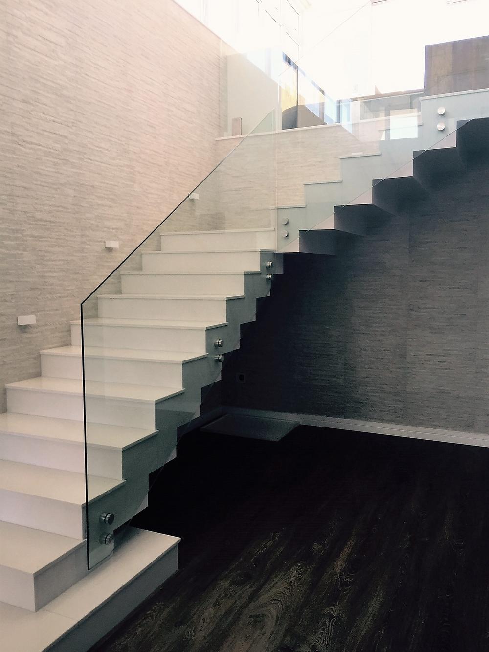 Escada projeto escritório Aletheia Westermann Arquitetos Juiz de Fora