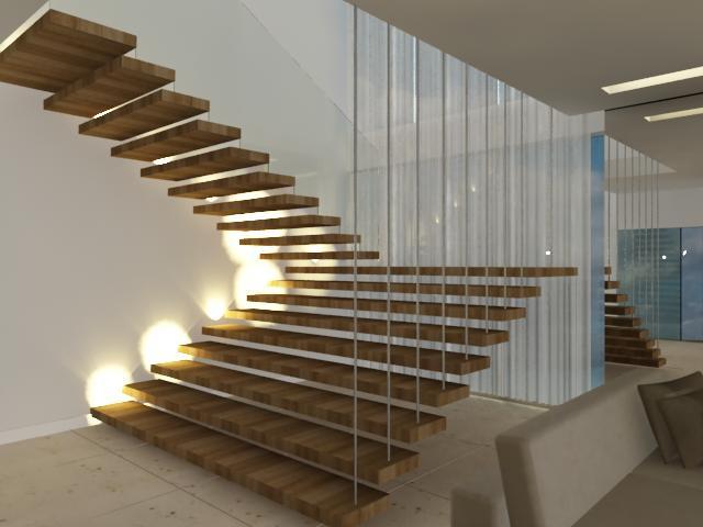 Escadas espelho projeto escritório Aletheia Westermann Arquitetos Juiz de Fora