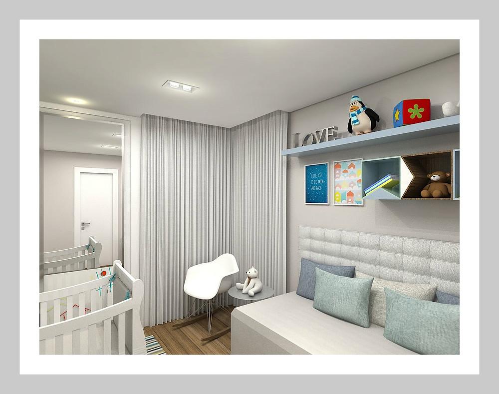 Quarto de Bebê arquiteta Aletheia Westermann Arquitetos Juiz de Fora arquitetura de interior