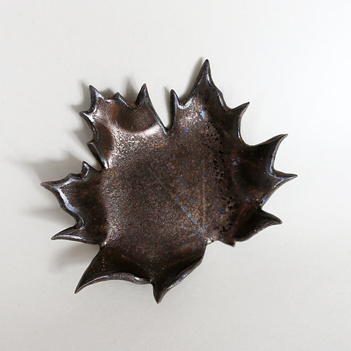 Maple leaf Candle plate