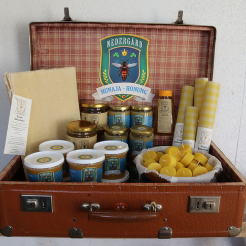 Honey and beeswax products