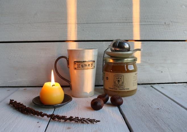 Ceramics and honey