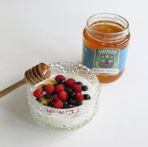 Newly extracted honey